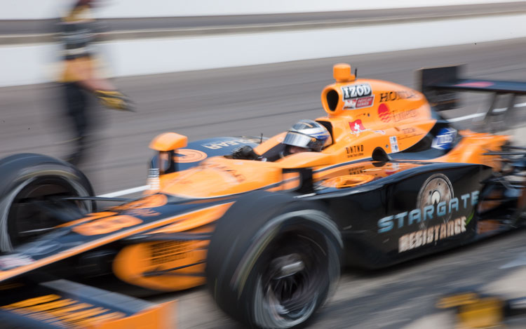 Simona De Silvestro Racer Indycar Race