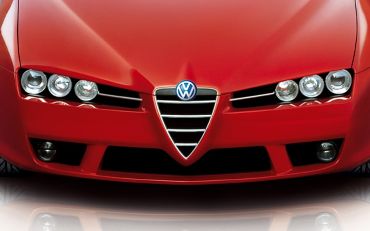 1008 01 Z Alfa Romeo Volkswagen Illustration