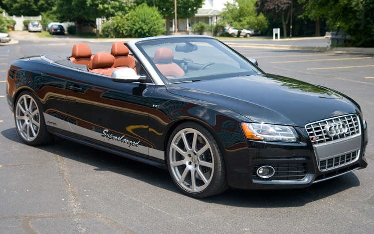 2010 MTM Audi S5 Cabriolet Front Three Quarters Static