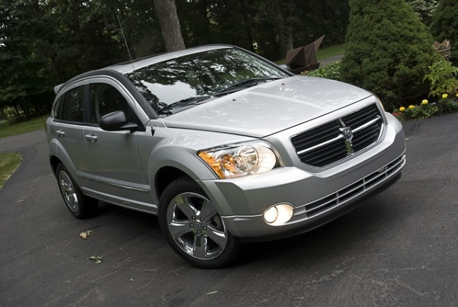 2010 Dodge Caliber Rush Front Three Quarters4 660x442