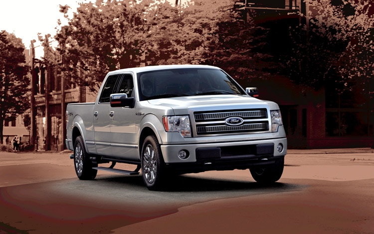 2010 Ford F 150 Front