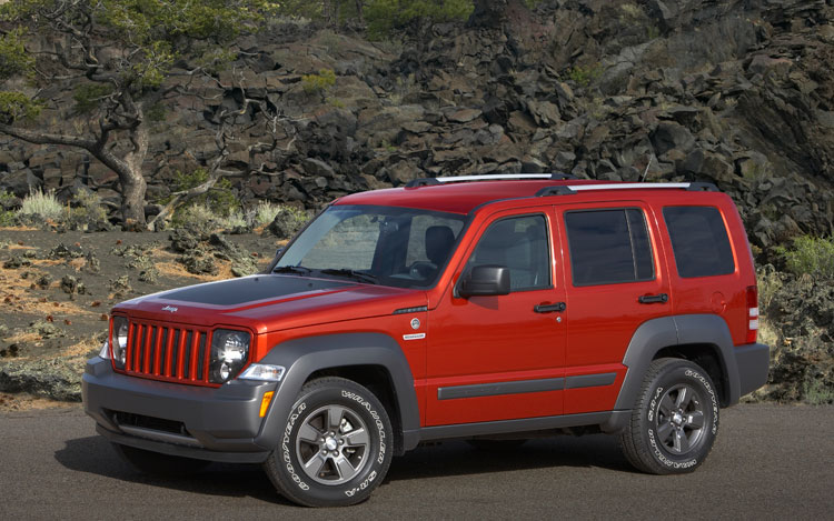 2010 Jeep Liberty Renegade Front Three Quarters4