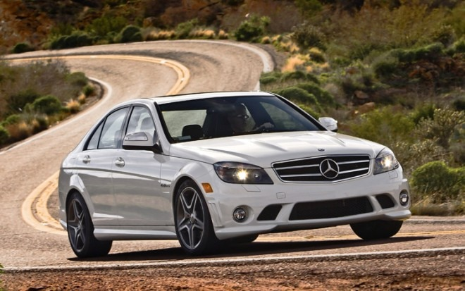 2010 Mercedes Benz C63 AMG Front Three Quarters 660x413