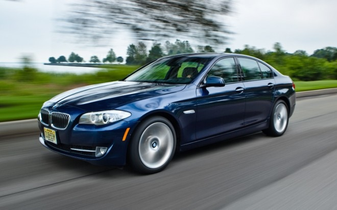 2011 BMW 535i Front Three Quarter1 660x413