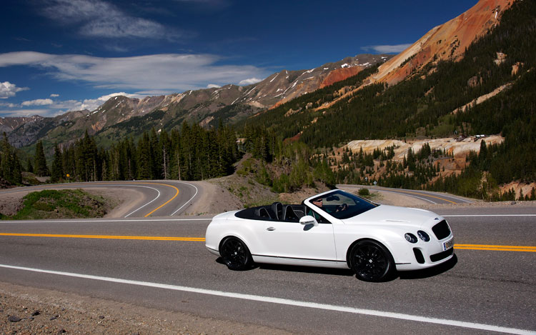 2011 Bentley Continental Supersports Convertible In Motion2