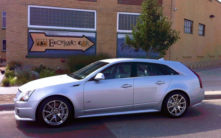 2011 Cadillac Cts V Sport Wagon Side