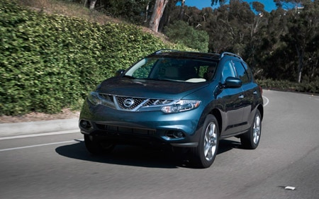 2011 Nissan Murano Front Three Quarter In Motion Am Hl