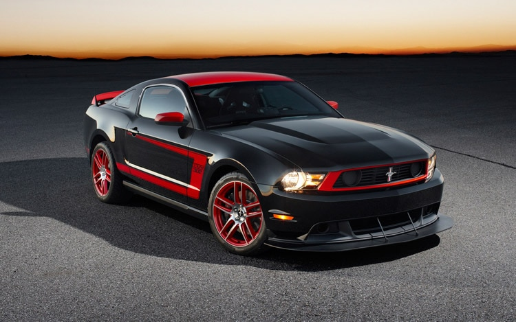 2012 Ford Mustang Boss 302 Laguna Seca Front Three Quarter
