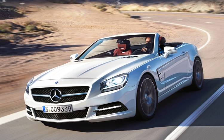 2012 Mercedes Benz SL Class Front Three Quarters