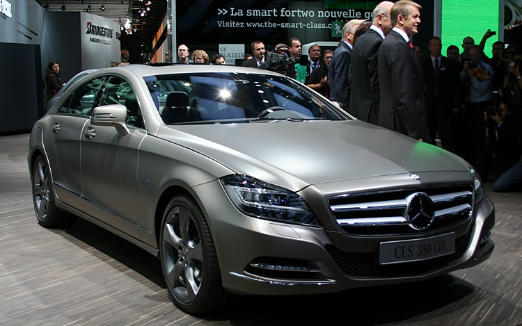 Mercedes Benz Cls Class Front Three Quarter1