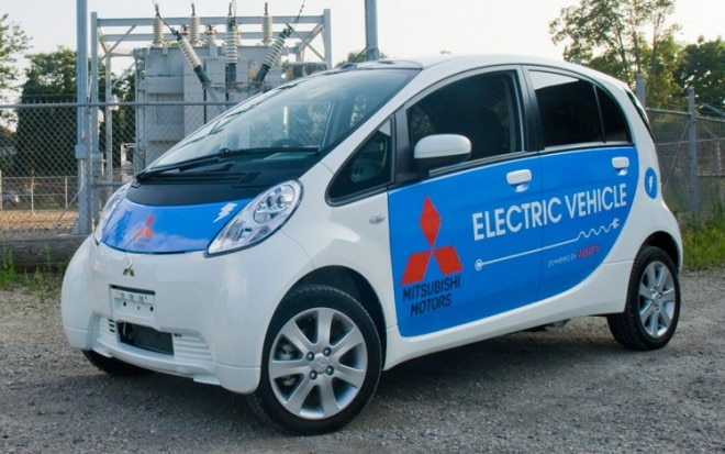 Mitsubishi I MiEV Front Three Quarters View 660x413