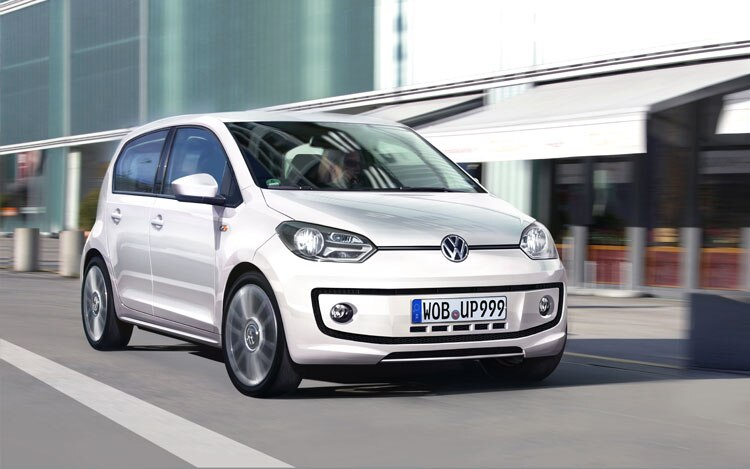 Volkswagen E UP Front Three Quarters2
