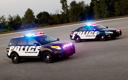 012 Ford Taurus 2012 Ford Explorer Police Interceptor Promo