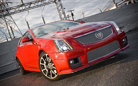 2011 Cadillac CTS V Coupe Promo