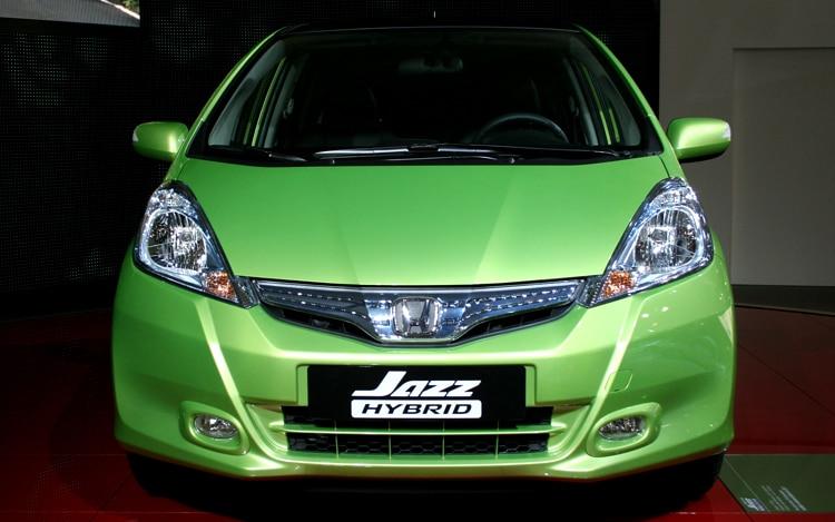 2011 honda fit hybrid 2010 paris auto show automobile. Black Bedroom Furniture Sets. Home Design Ideas