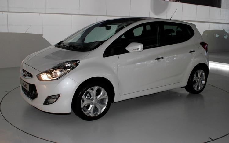 2011 Hyundai Ix20 Front Three Quarters
