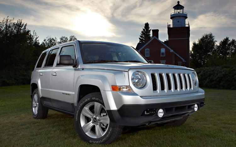 2011 Jeep Patriot Passengers Side Three Quarters View