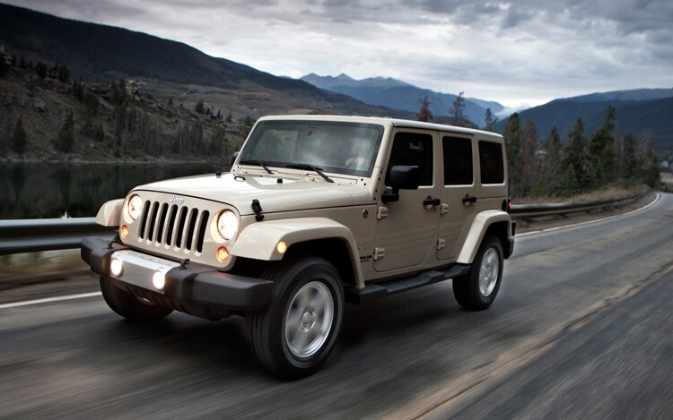 2011 Jeep Wrangler Front View