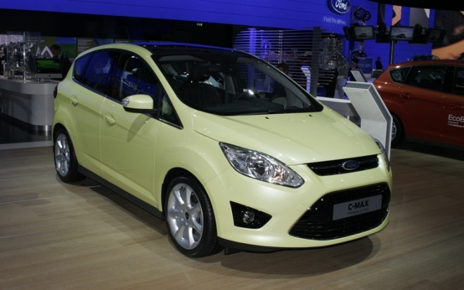 2012 Ford C Max Front Three Quarters