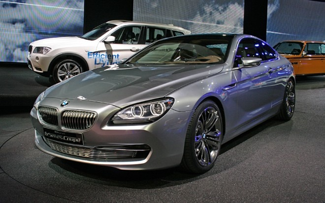 BMW Concept 6 Series Coupe Front Three Quarter View Driver1 660x413