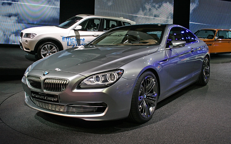 BMW Concept 6 Series Coupe Front Three Quarter View Driver1