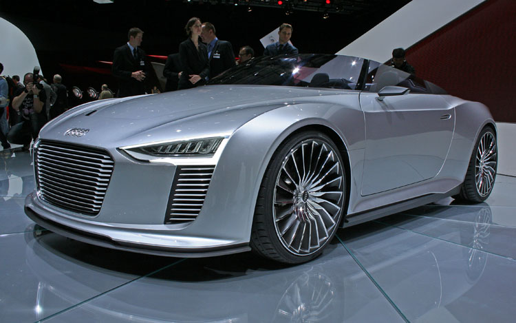Audi E Tron Spyder Concept Front Three Quarter1