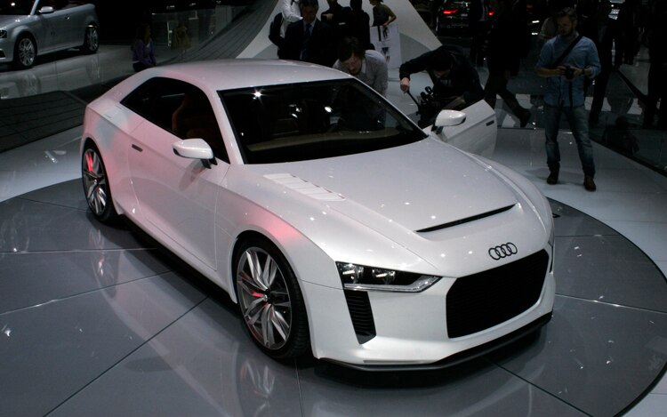 Audi Quattro Concept Front Three Quarters
