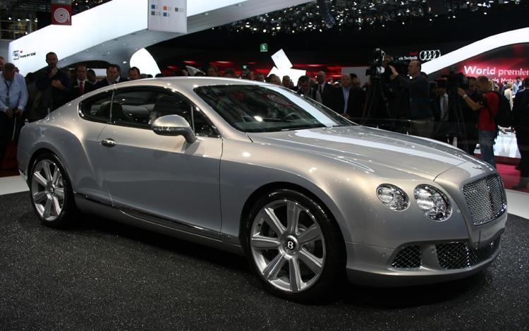 Bentley Continental Gt Front Three Quarter1