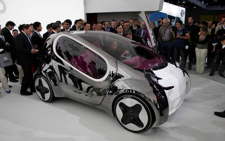 Kia Pop Electric Car Concept Side 21