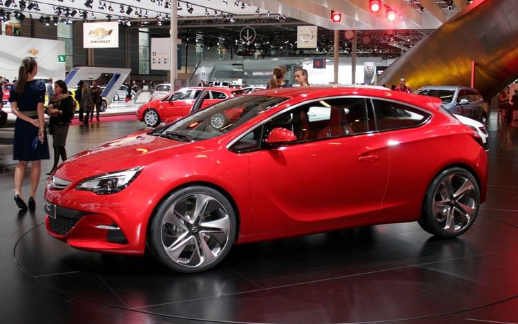 Opel GTC Concept Side