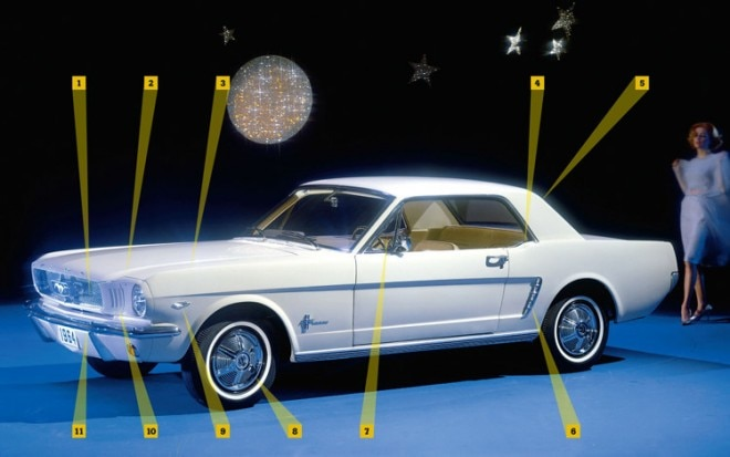 1964 Ford Mustang Front View1 660x413