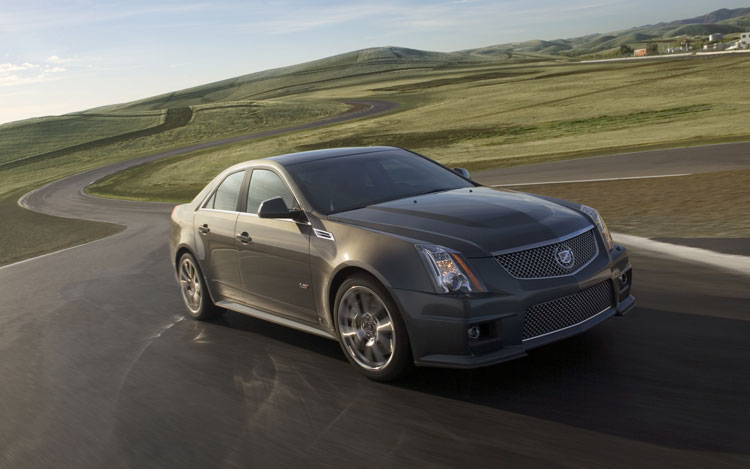2010 cadillac cts v sedan editor 39 s notebook automobile. Black Bedroom Furniture Sets. Home Design Ideas