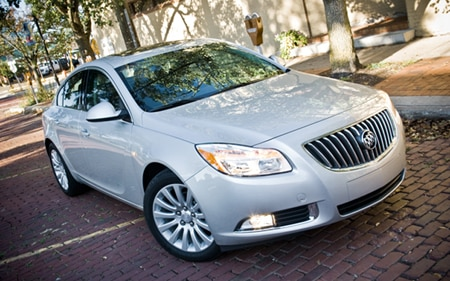 2011 Buick Regal CXL Hp