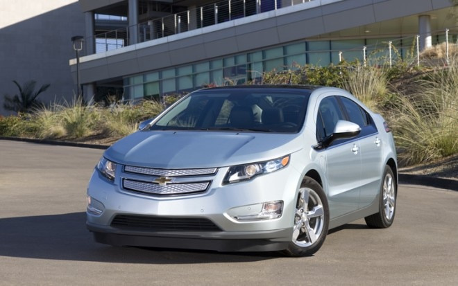 2011 Chevrolet Volt Front View Static2 660x413