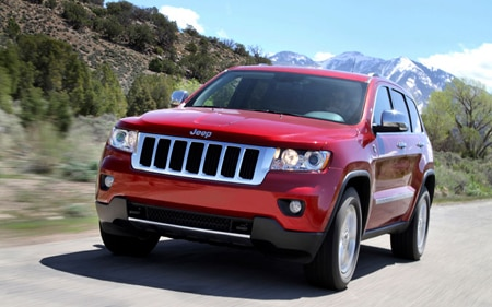 2011 Jeep Grand Cherokee Hp