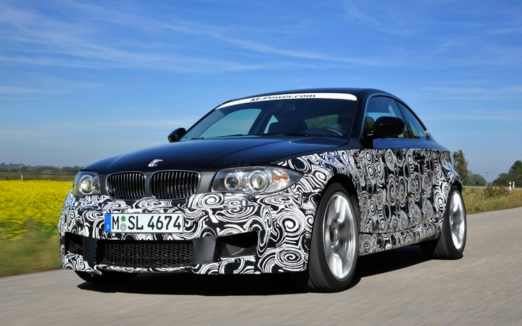 2012 BMW 1 Series M Coupe Front Three Quarter 21