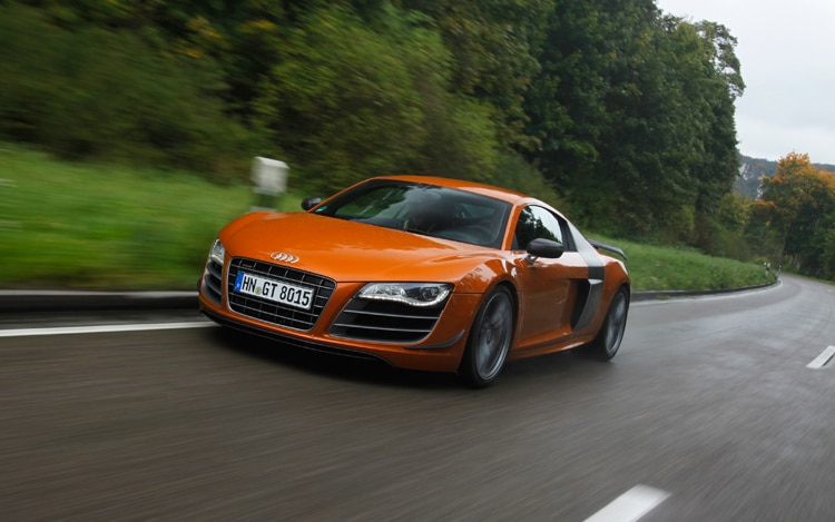 2012 Audi R8 GT Front Three Quarters
