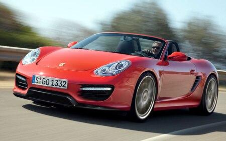 2012 Porsche Boxster Hp
