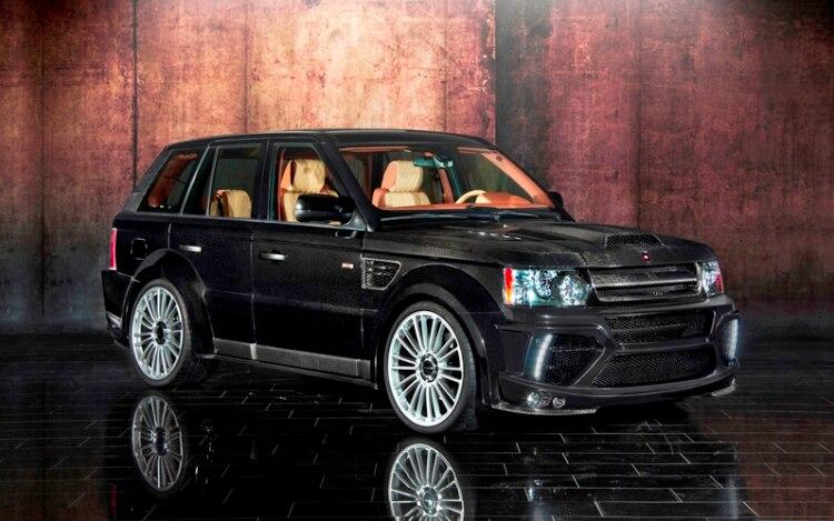 blackout mansory 39 s take on the range rover sport. Black Bedroom Furniture Sets. Home Design Ideas