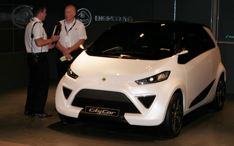 Lotus City Car Concept Front Three Quarters
