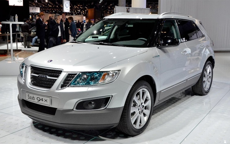 Saab 9 4x Front View1
