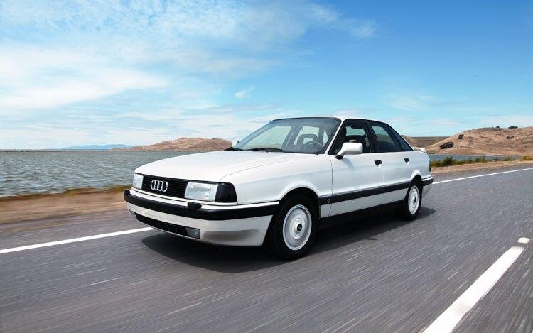 1990 1991 Audi 90 Quattro 20V Front Three Quarters1