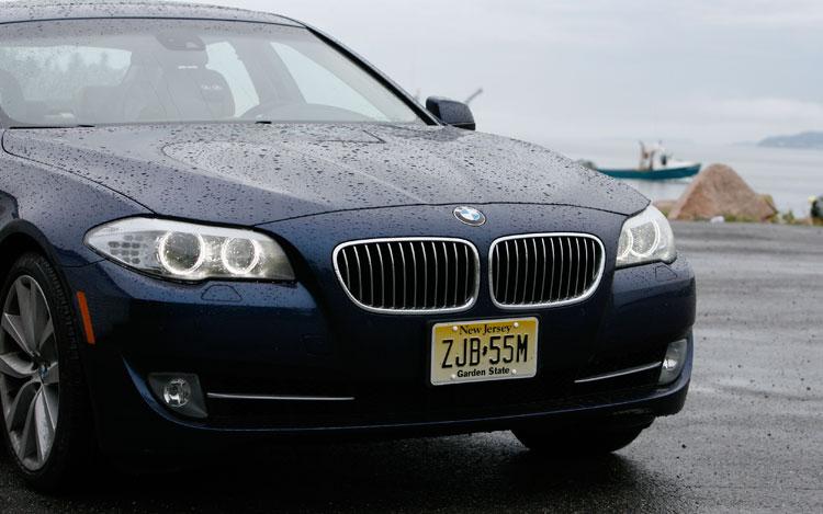 2011 BMW 535i Front End