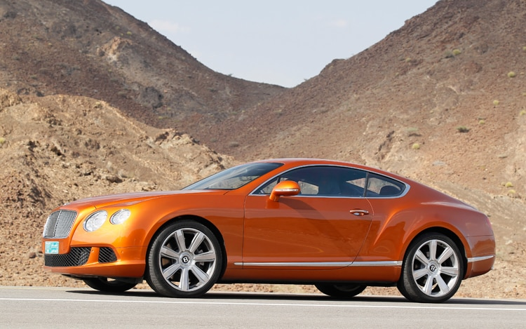 2011 Bentley Continental GT Side View