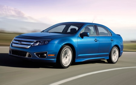2011 Ford Fusion Hp