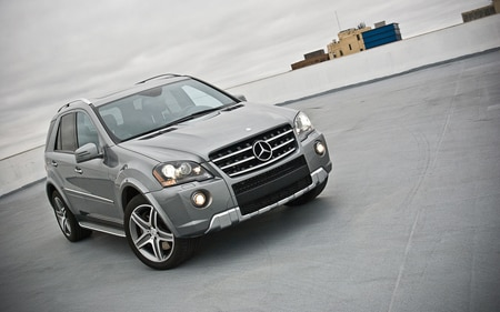 2011 Mercedes Benz ML63 AMG Promo