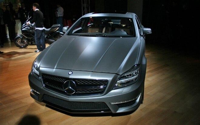 2012 Mercedes Benz CLS63 AMG Front1 660x413