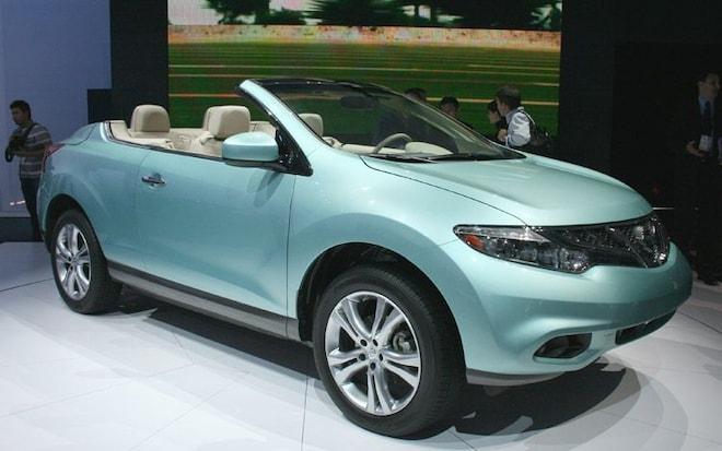 Priced 2011 nissan murano crosscabriolet will cost 47190 publicscrutiny Images