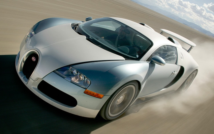 feature flick bugatti veyron clips corolla during test drive. Black Bedroom Furniture Sets. Home Design Ideas