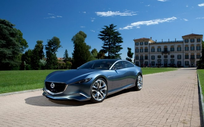 Mazda Shinari Concept Front Three Quarter 1 660x413